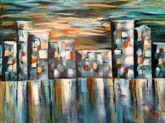 Cityscape by Carol Schmauder