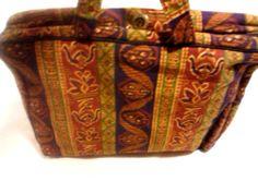 Adrienne Vittadini Cotton Portfolio Carry Case