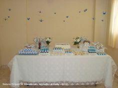 Decoração do Batizado do Pedro #2 http://blog.sakuraorigami.com.br/2011/10/tsuru-decoracao-batizado.html#
