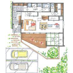 清家修吾さんはInstagramを利用しています:「. 【ボツプラン487】 (※長文&答えが無い話のため、建築系のお仕事の方以外は、読まない方がいいです) . 結論は単純ですが、最後に書いてます。 . この図面を見たとき、おっ?玄関というスペースはどうあるべきだ?と考えさせられました。 .…」 My Dream, Architecture Design, House Plans, Floor Plans, House Design, Flooring, How To Plan, Photo And Video, Interior Design
