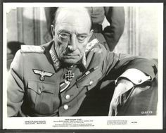 War Italian Style - Buster as General von Kessler,  a Nazi general and a former concert pianist