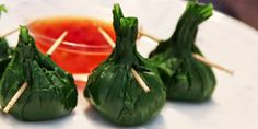 Ricette e Segreti in Cucina : Dalla Thailandia: fagotti di spinaci con cuore di ...