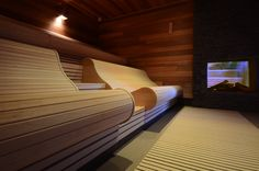 Find more information at the webpage press the grey link for more choices _ sauna backrest Sauna Room, Spa Rooms, Infrared Sauna, Plunge Pool, Saunas, Interior Architecture, Wellness, Relax