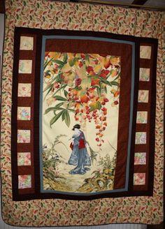 Quilts - Oriental - Geisha Garden £125.00