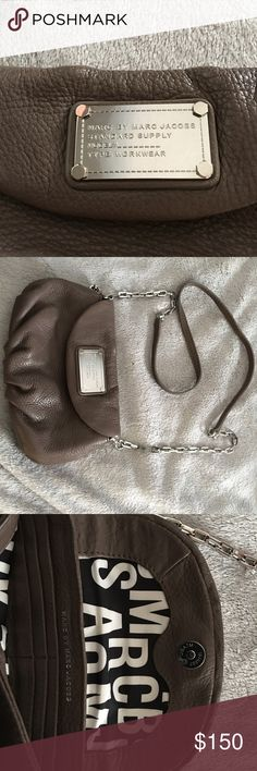 Marc by Marc Jacobs mini cross body Marc by Marc Jacobs mini cross body (Natasha style but not sure of proper name) in great condition. Used once if at all. No dust cover, magnetic closure, comes in polished aluminum color. Marc by Marc Jacobs Bags Crossbody Bags