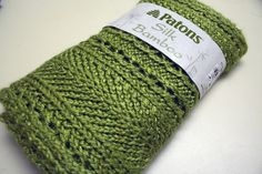 Free Pattern: Lacy Grass Green Scarf - follow 'About this Pattern' on right to link (scarves to throws)