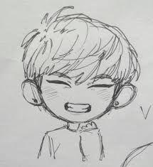 Resultado de imagen para dibujos kawaii de bts junggkook