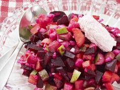 Rosolli Xmas, Christmas, Fruit Salad, Food And Drink, Appetizers, Dinner, Koti, Finland, Foods