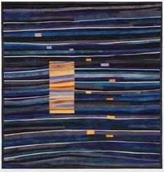 Marti Plager Fiber Artist Louisville Kentucky - Secrets by Hercio Dias Fiber Art Quilts, Textile Fiber Art, Quilt Art, Quilt Modernen, String Quilts, Landscape Quilts, Contemporary Quilts, Traditional Quilts, Sewing Art