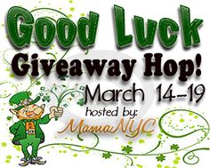 MamaNYC is hosting the GOOD LUCK GIVEAWAY HOP! Open WORLDWIDE* Two prize packs valued at $185 total! Choose between family and toddler products from Original Sprout, Babadoo Stationary, and Pourty -- OR: $100 PayPal CASH! Ends 3/19*