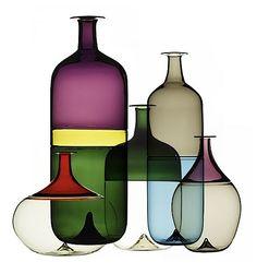 Bolle Bottles by Tapio Wirkkala