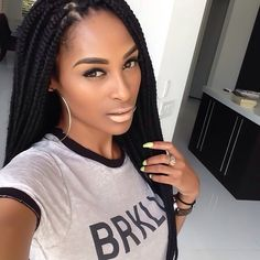 Missing my Box Braids Goddess Locs, Protective Hairstyles, Weave Hairstyles, Protective Styles, Woman Hairstyles, Box Braids Sizes, Hair Afro, Curly Hair Styles, Natural Hair Styles