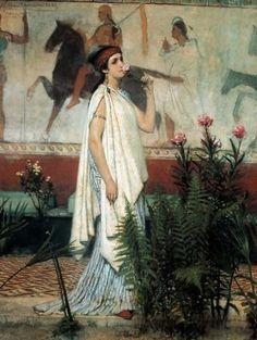 Sir Lawrence Alma-Tadema (1836-1912)- Greczynka, 1869