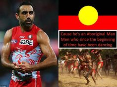 Adam Goodes; a man vilified for refusing to accept racism based on his Aboriginality. A true hero.
