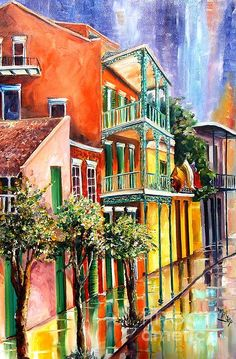 """My New Orleans art - """"House of the Rising"""" in New Orleans"""