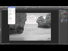 ▶ Tutorial PS // Blanco y Negro (color LAB) - YouTube