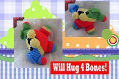 Funmigurumi And Kids Stuff: Kibbles the Dog  #Free #crochet #Amigurumi #pattern  #dogs