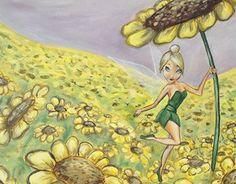 """Check out new work on my @Behance portfolio: """"Tinker Bell's flowers""""…"""