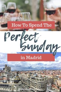 From churros for breakfast to copas at the club, experiencing Sunday in Madrid is a MUST. The best things to do in Madrid on Sunday! Malaga Spain, Granada Spain, Alicante Spain, Madrid Travel, Barcelona Travel, Europe Travel Guide, Spain Travel, Travelling Europe, Travel Tips