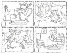 Looking for a Story Sequencing Worksheets. We have Story Sequencing Worksheets and the other about Benderos Printable Math it free. Story Sequencing Pictures, Story Sequencing Worksheets, Kindergarten Worksheets, English Activities, Reading Activities, Fairy Tales Unit, Fairy Tale Theme, Traditional Tales, Sequence Of Events
