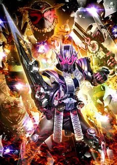 Kamen rider Zi o 2 Kamen Rider Toys, Kamen Rider Wizard, Kamen Rider Decade, Kamen Rider Series, Kamen Rider Kabuto, Kamen Rider Zi O, Fire Image, Fan Poster, Poster Drawing