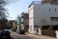 Rue Le Corbusier, Cité Frugès, Pessac   Flickr - Photo Sharing!