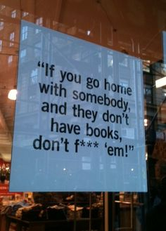 I take life advice from store windows.