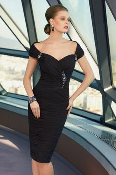 Vogue Sweetheart Neck Beading Solid Color Mother of The Bride Dress