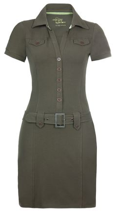 military inspired golf dress by girls golf