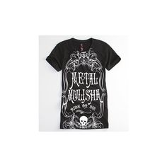 Metal Mulisha Tees - Womens - Metal Mulisha Ride Or Die T-Shirt ($15) ❤ liked on Polyvore featuring tops, t-shirts, metal mulisha, metal mulisha t shirts, print t shirts, print top and patterned tops