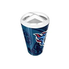 Tennessee Titans Nfl Polymer Toothbrush Holder (scatter Series)