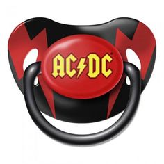 AC/DC Baby Dummy / Pacifier - Official Licensed Product