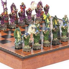 Fantasy Chessmen  Marcello Chess Board from Italy * Read more reviews of the product by visiting the link on the image.