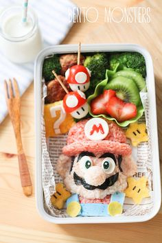 this Mom makes the best ( and cutest) bento box lunches ever! check out her blog site for inspiration!