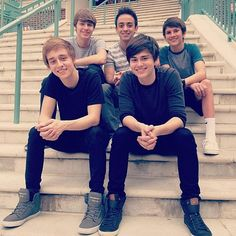 Before You Exit! Bottom Right: Riley, Bottom left: Connor, top right : TOBY <3, in the middle on top is Thomas, top left is Braiden!