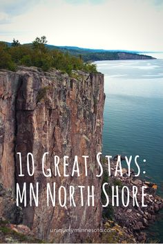 Dotted alongside Lake Superior's MN Highway 61 are unique places to stay – try one of these 10 Great Stays on your next road trip up Minnesota's North Shore.