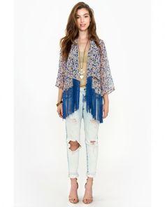 SugarLips Spring Rolls Kimono at Viomart.com