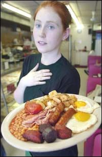 A true Irish breakfast - we were served this breakfast every day during our trip to Ireland.