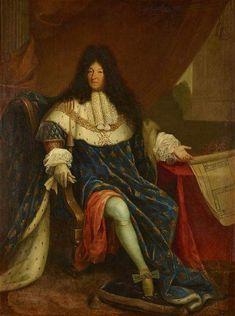 Louis Xiv, Chateau De Maintenon, Estilo Glam, Ludwig Xiv, Chateau Versailles, Renaissance, Oil On Canvas, Canvas Prints, French History