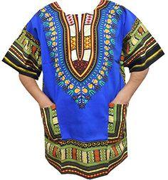 4a09d53c065 Decoraapparel Plus Size Dashiki Shirt For Men African Blouse Hippie Top