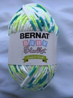 Fresh Start Ombre Bernat Baby/Sweet & Fresh/Super Bulky 6 Polyester 10.5oz Skein #Bernat #BlanketBabyYarnSweetFresh