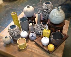 How beautiful are these vases? Stop in At Home and take one (or five!) to YOUR home.