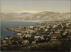 Beyrouth et le Liban. Metropolitan Museum of Art (New York, N.Y.).  Department of Islamic Art. Ernst Herzfeld Papers. #beirut #lebanon #photographs
