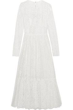 Dolce & Gabbana Cotton Blend Lace Dress - $3648