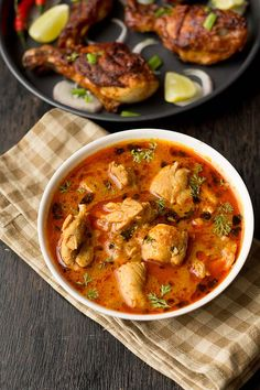 Punjabi Chicken Curry Dhaba Style recipe with stepwise instructions. The ingredient's for this curry is basic like onion , tomatoes, curd and spices.