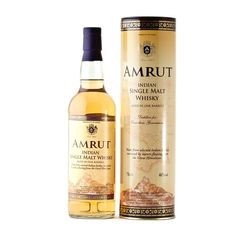 Amrut Indian Whiskey; Even the whiskey connoisseur on your list will sit up and take notice of this Amrut Indian Whiskey   spiritedgifts.com