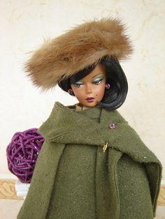 Autumn Wrap OOAK Fashion for Silkstone/Vintage Barbie by Joby Originals
