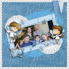 Oscraps.com :: Shop by Category :: All New :: SoMa Design: Heavenly Angels - Cards Heavenly Angels, Angels In Heaven, Angel Cards, Kit, Frame, Shop, Design, A Frame, Frames