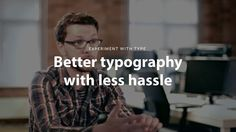 Typecast - Experiment with Type by Typecast. A short overview of the features in Typecast that help with typographic experimentation.