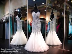 This sexy mermaid prom dress is a MUST HAVE! The beads, stones and jewels give a slimming effect to your silhouette. The beaded straps crisscross your open back with a sheer mid rift and completing this stunning look with a swirled hem. Perfect for Prom, Pageant or Destination Wedding. Gorgeous and it's at Rsvp Prom and Pageant, your source for the HOTTEST Prom and Pageant Dresses!